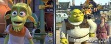 Shrek Benzerlikler